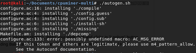 install monero miner kali linux