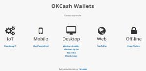 okcash wallet